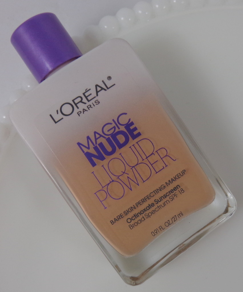 loreal magic nude liquid powder review