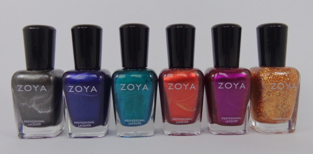 Swatch & Review: Zoya Satins Collection for Fall 2013