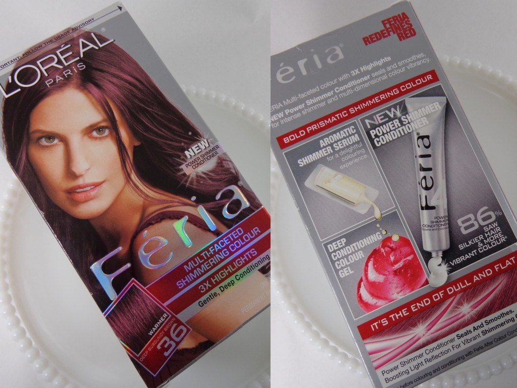 Review with Before and After Photos: L'Oreal Feria Hair Color