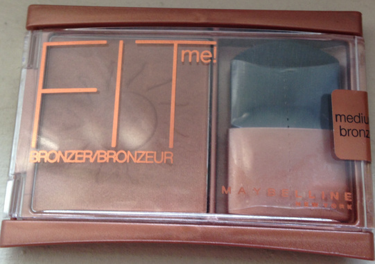 Swatch & Review:  Maybelline Fit Me! Bronzer