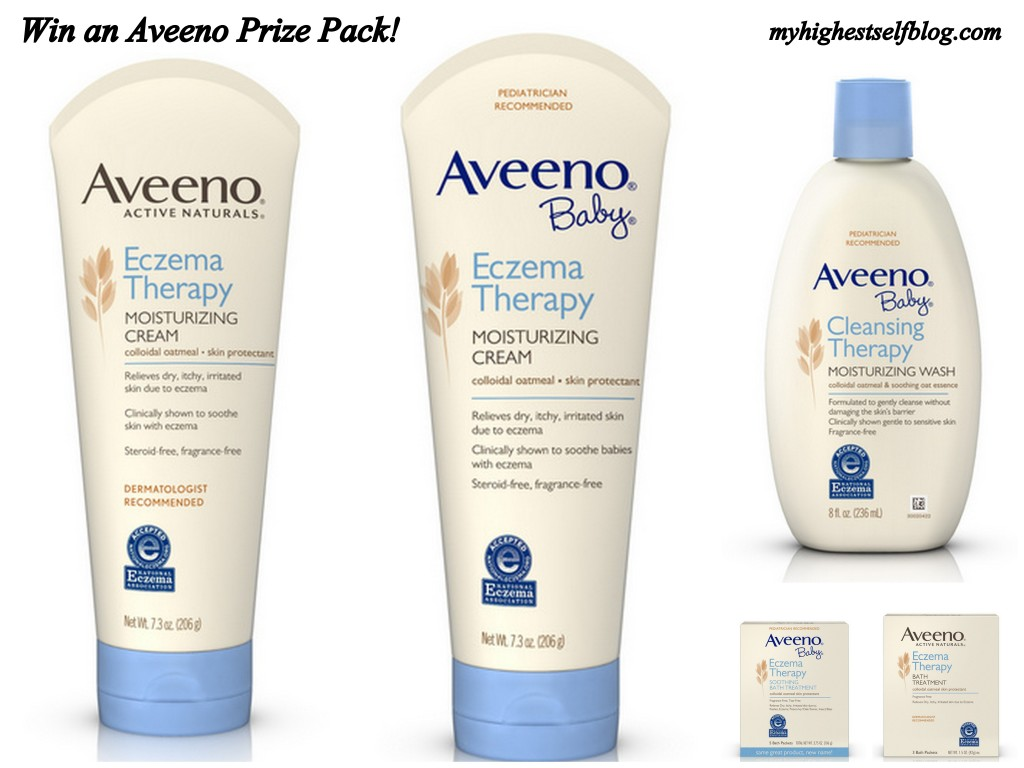 CLOSED Aveeno Giveaway! Win a Prize Pack worth over $40