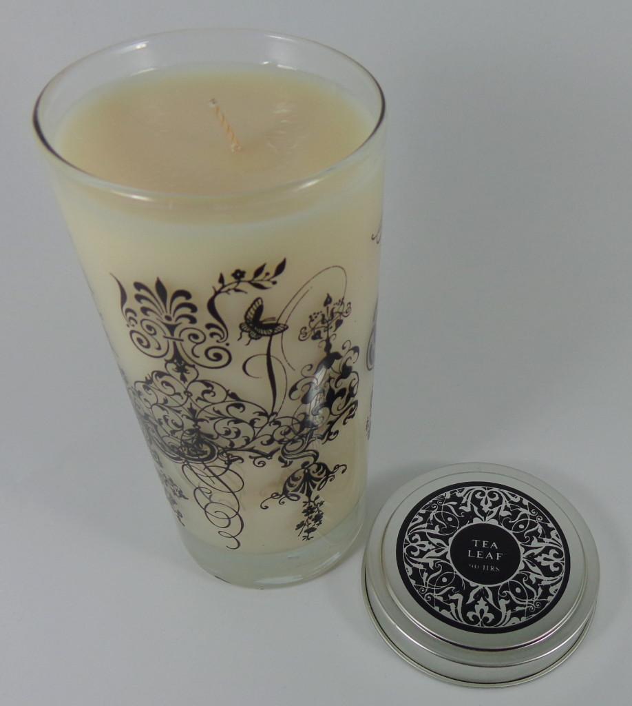 Skeem Tea Leaf Pillar Candle