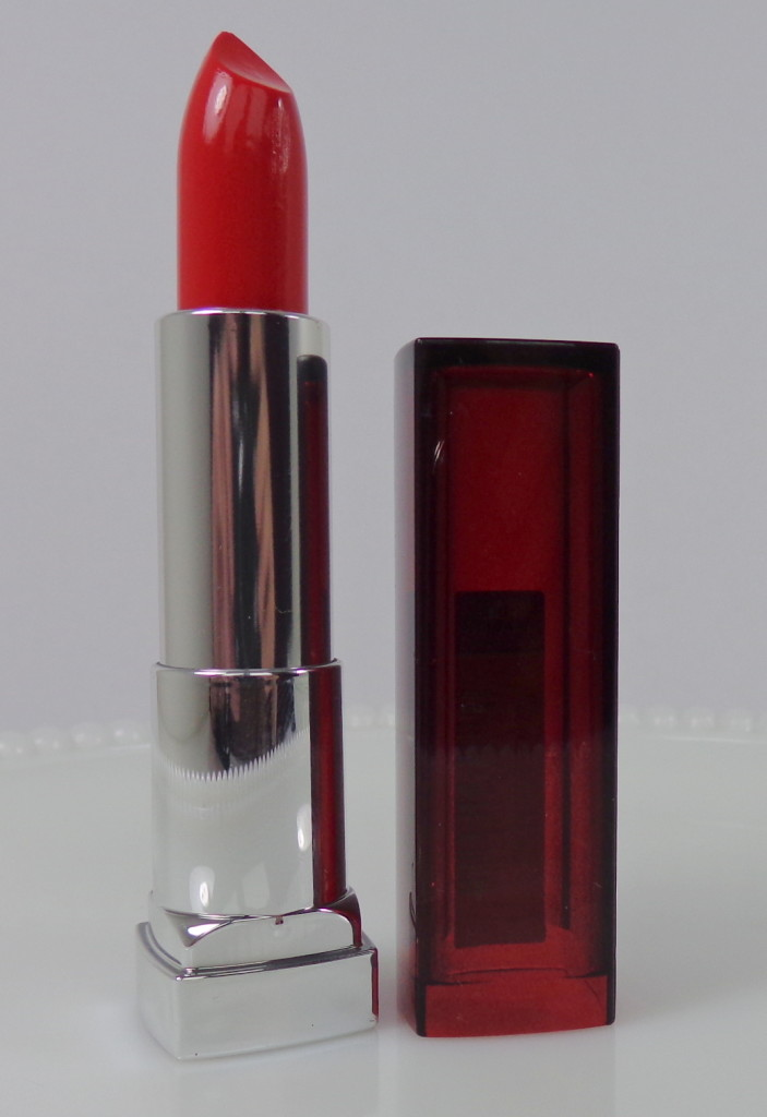 Swatch & Review: Limited Edition Maybelline ColorSensational Lipstick – Refined Red