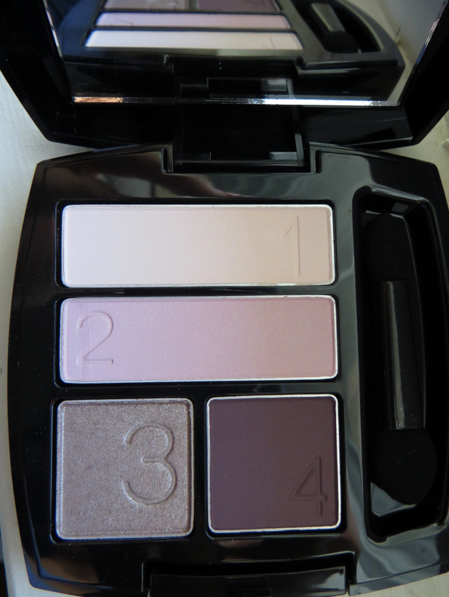 Avon Eyeshadow Quad Review - Berry Love