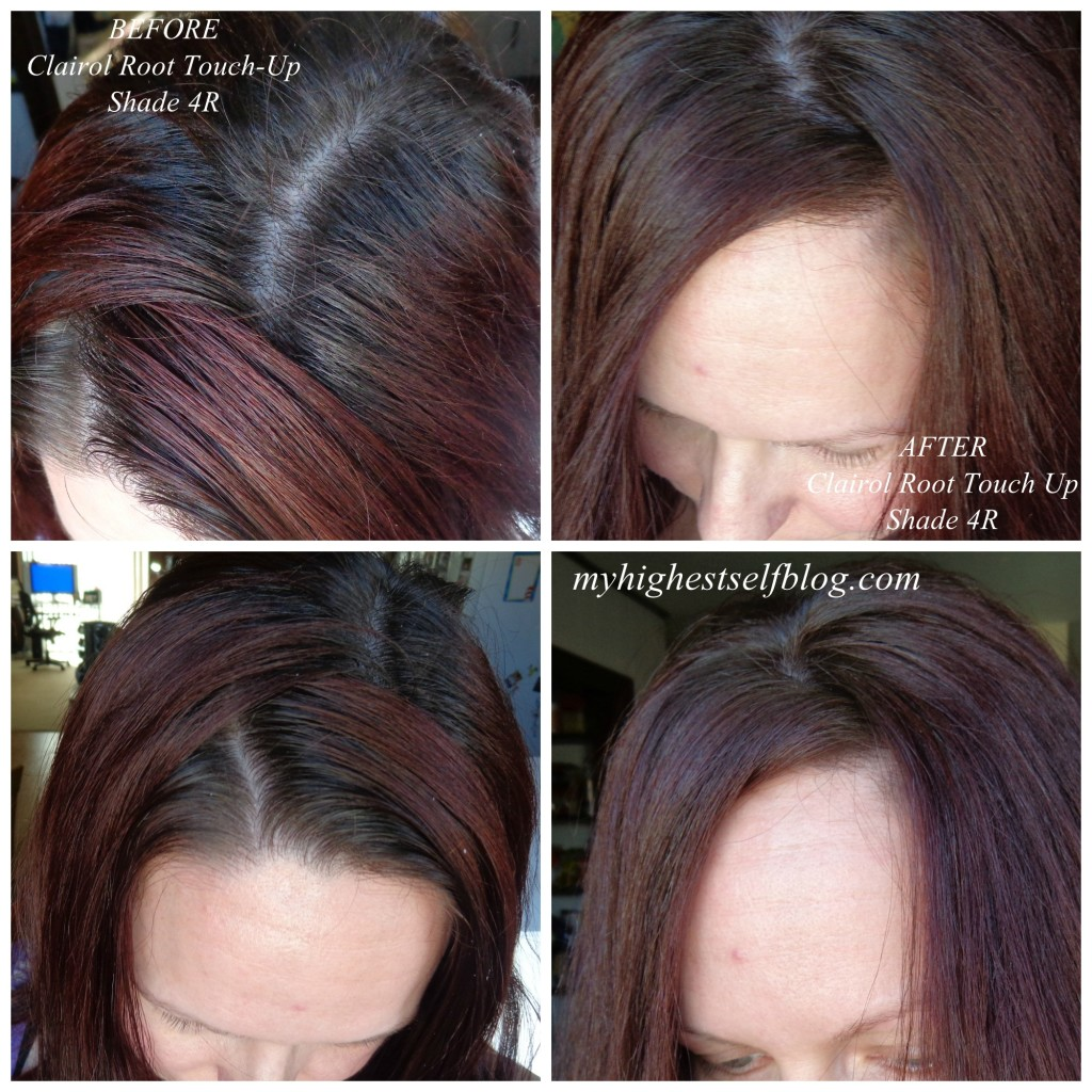 Clairol Root Touch Up before and after