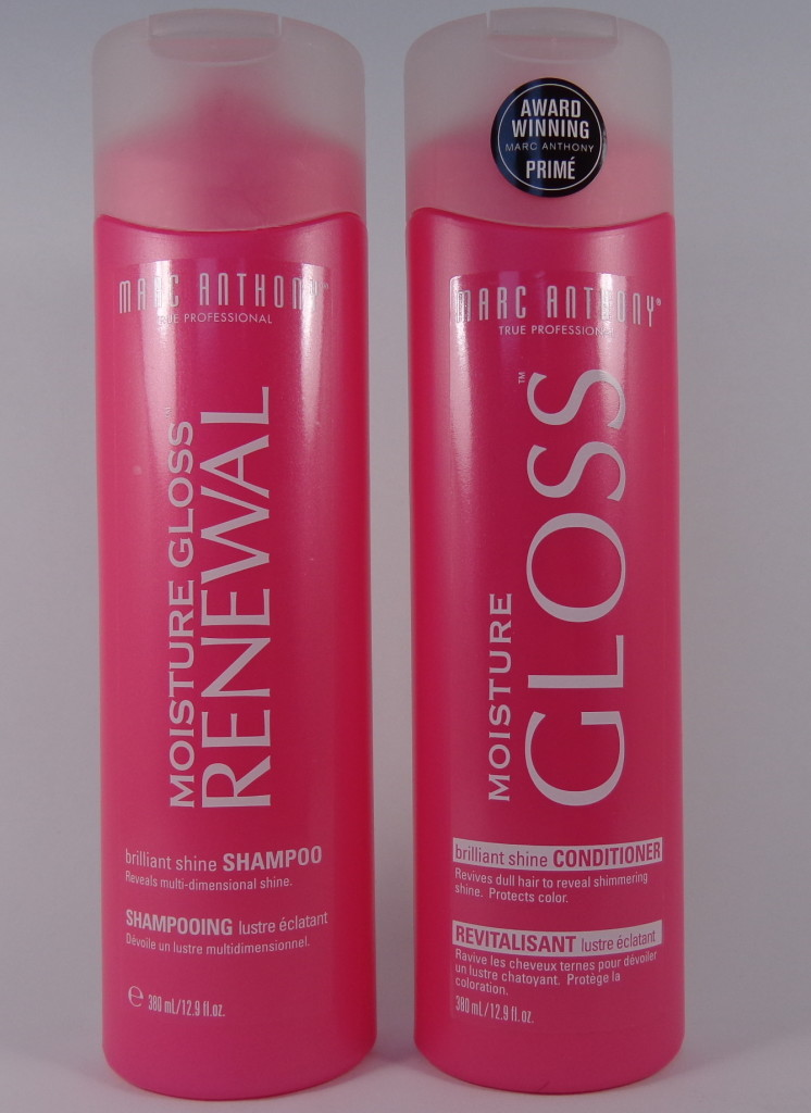 Marc Anthony Moisture Gloss Brilliant Shine Shampoo and Conditioner