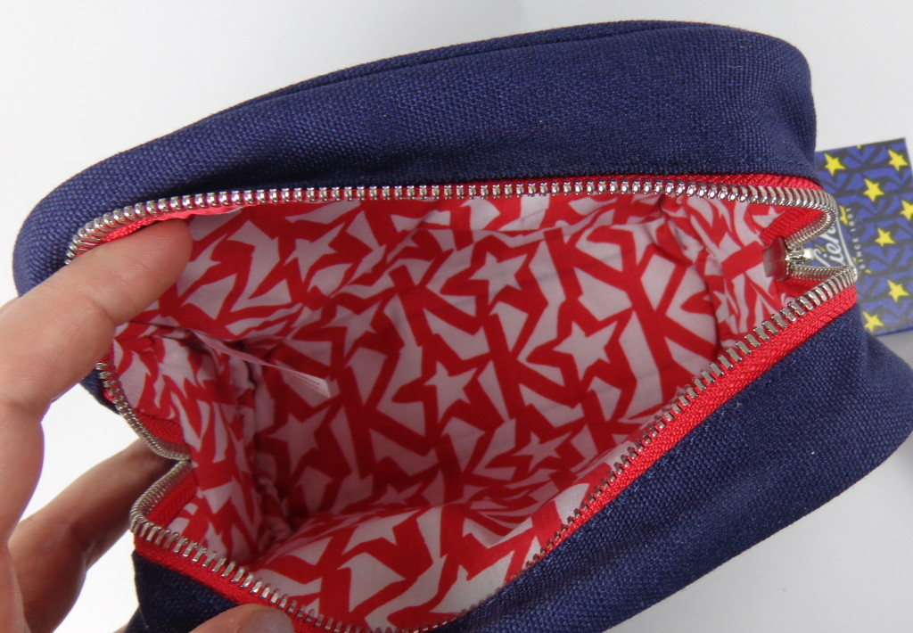 Kiehl's makeup bag with stars