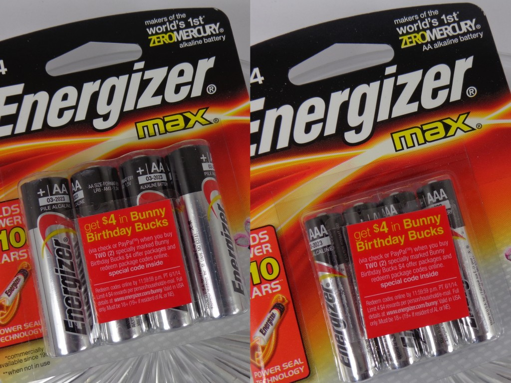 Giveaway: Win Energizer Batteries to Celebrate the Energizer Bunny's 25th Birthday