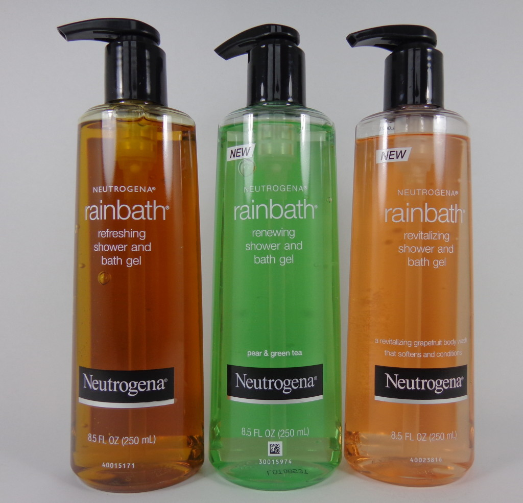 Review: Neutrogena Rainbath Shower and Bath Gels