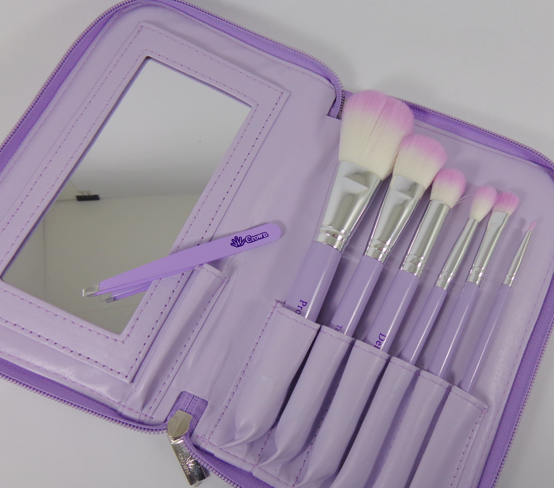 Review: Crown Brush 6-Piece HD Cosmetic Brush Set