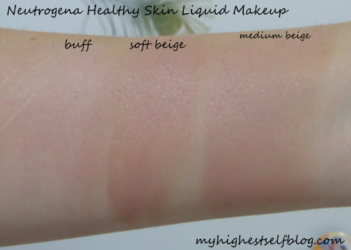 Neutrogena Healthy Skin Foundation In  Natural Beige
