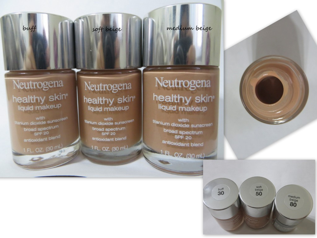 Swatch & Review:  Neutrogena Healthy Skin Liquid Makeup