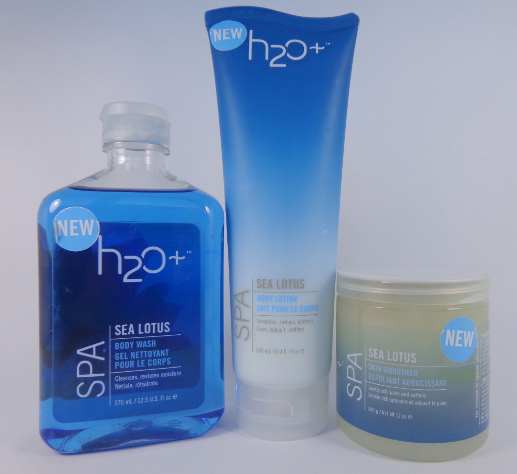 H2O Plus Sea Lotus Body Wash, Body Lotion, Skin Smoother