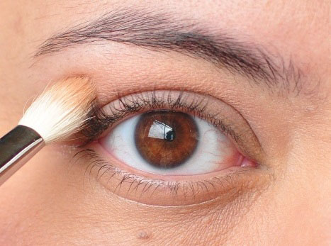 Smoky Gold Eyeshadow Tutorial 2