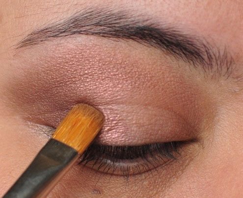 Smoky Gold Eyeshadow Tutorial 4