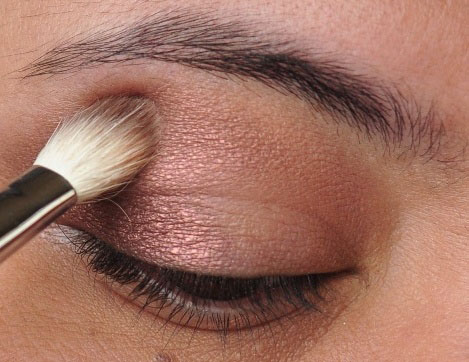 Smoky Gold Eyeshadow Tutorial 5