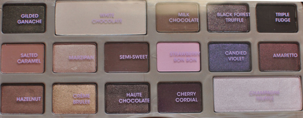 Too Faced Chocolate Bar Palette FOTD