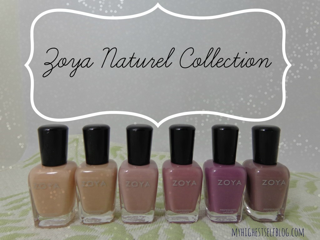 Zoya Natural Collection Swatches