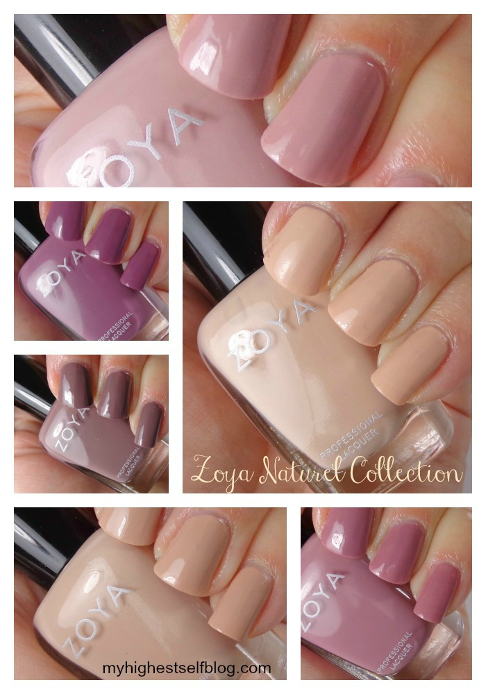 Zoya Natural Swatches