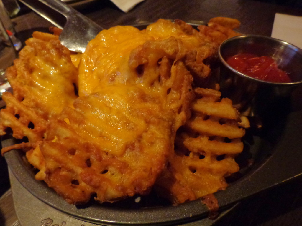 Cheese Fries at Fifty/50 Chicago