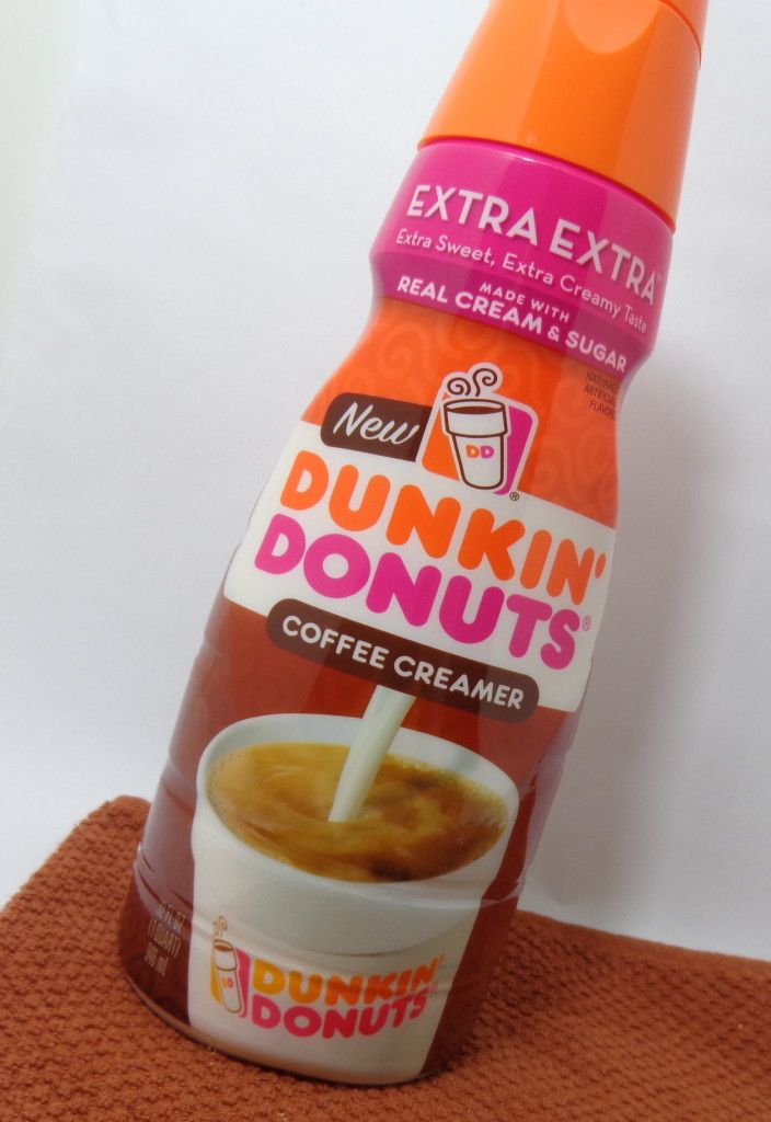 Review:  NEW Dunkin' Donuts Coffee Creamer