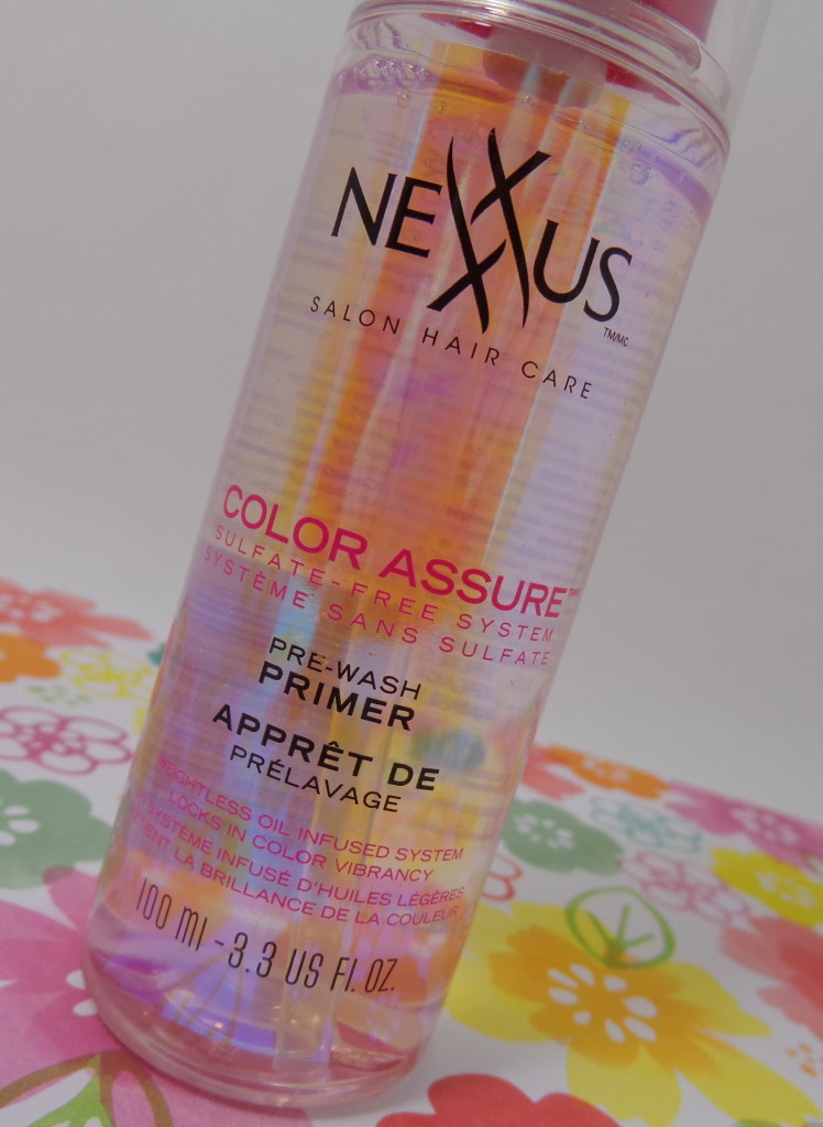 Review: Nexxus Color Assure Sulfate-Free System for Hair