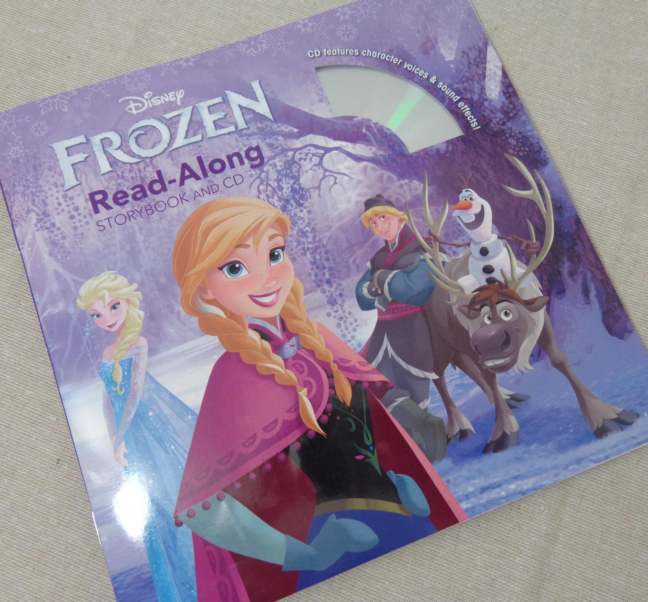 Frozen Read Along Book CD