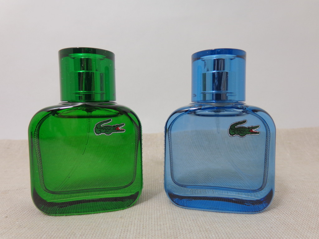 For Your Man: Eau de Lacoste L.12.12 Vert and Bleu