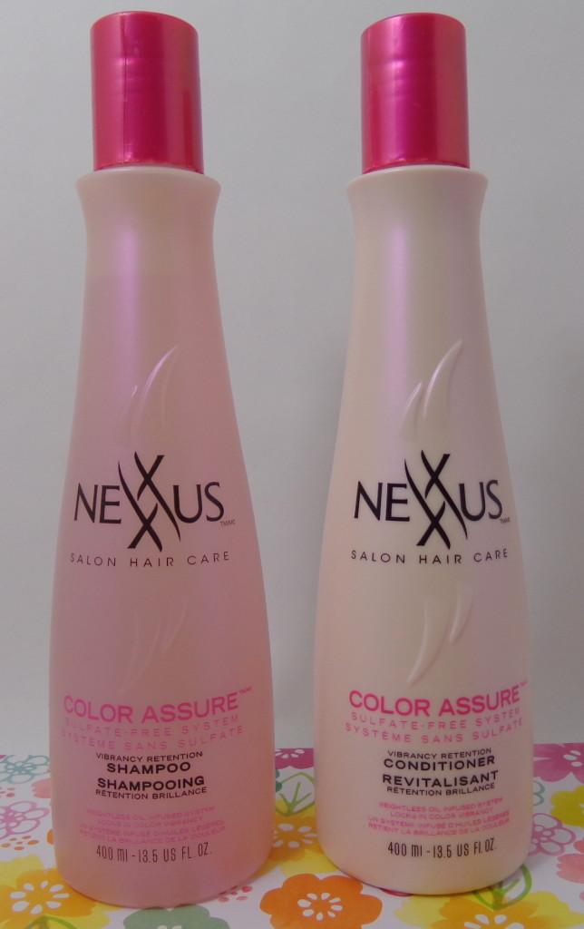 Nexxuss Color Assure Shampoo Conditioner