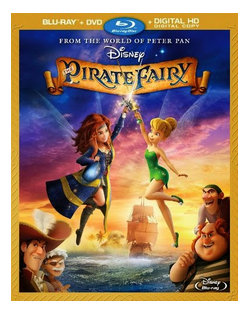 Giveaway: Enter to win Disney's The Pirate Fairy DVD (2 Winners)