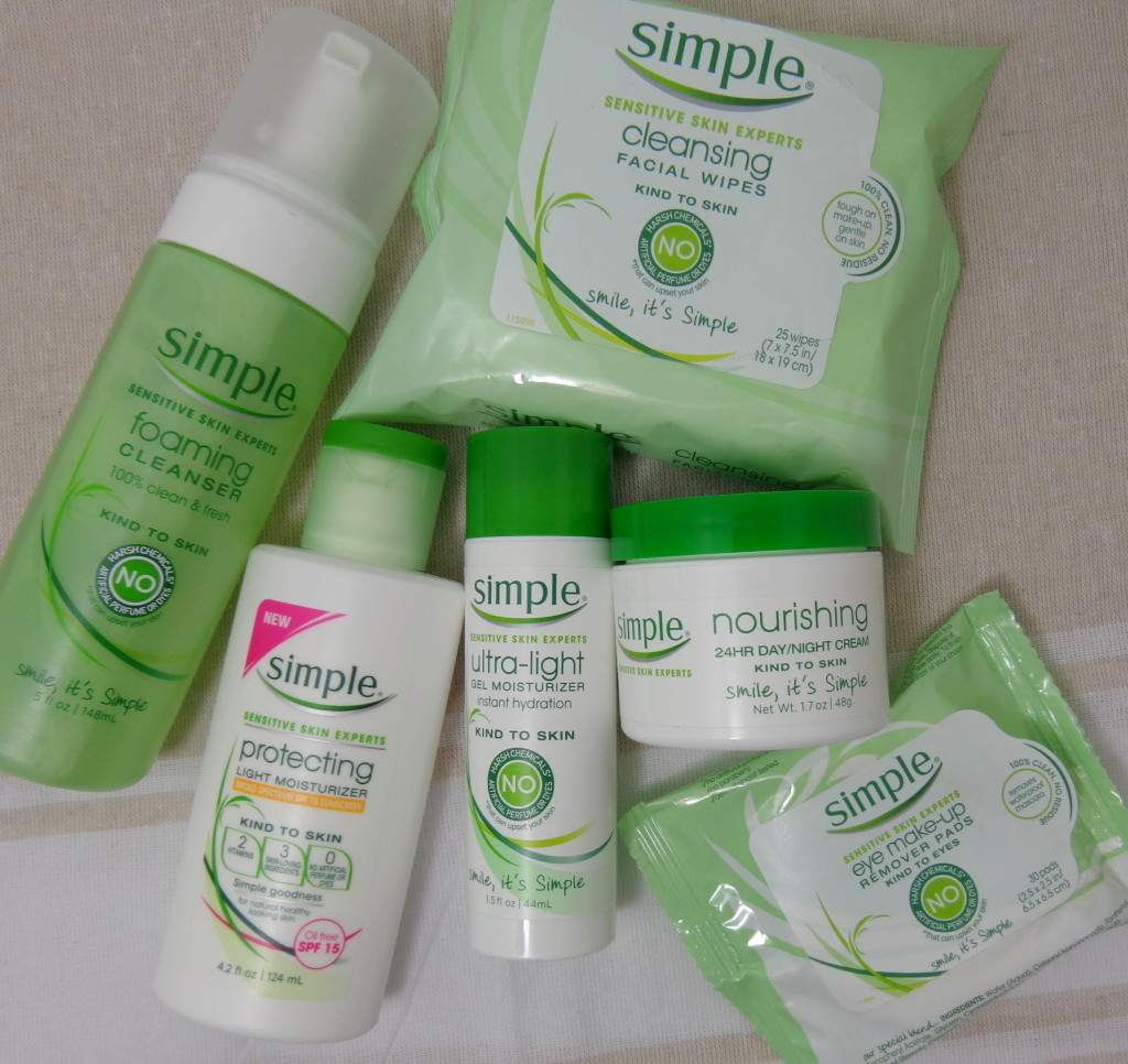 Review & Giveaway: Simple Skincare Products (ARV: $53) #KindtoCitySkin