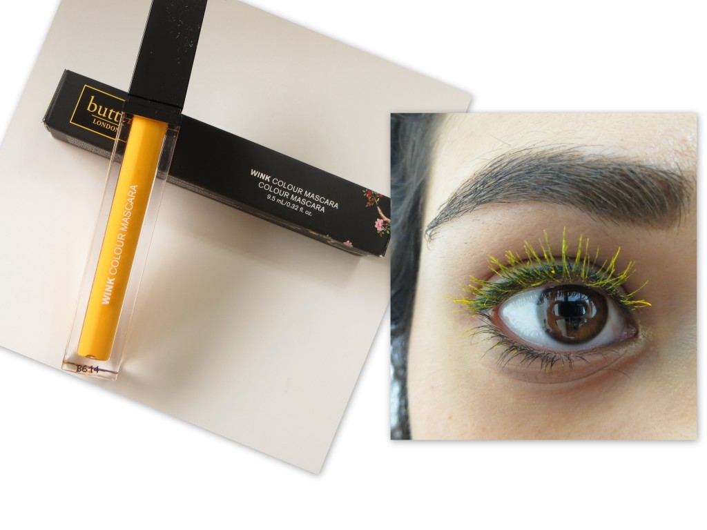 butter LONDON Cheerio Mascara Review Swatch