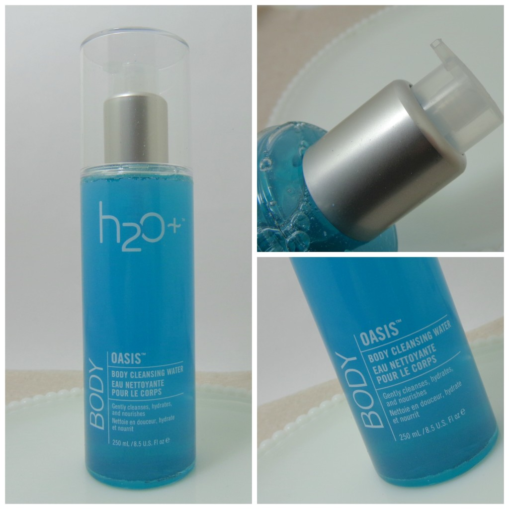H20 Plus Oasis Body Cleansing Water and Body Scrub