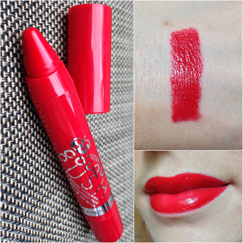 Rimmel Colour Rush The Redder The Better Swatch