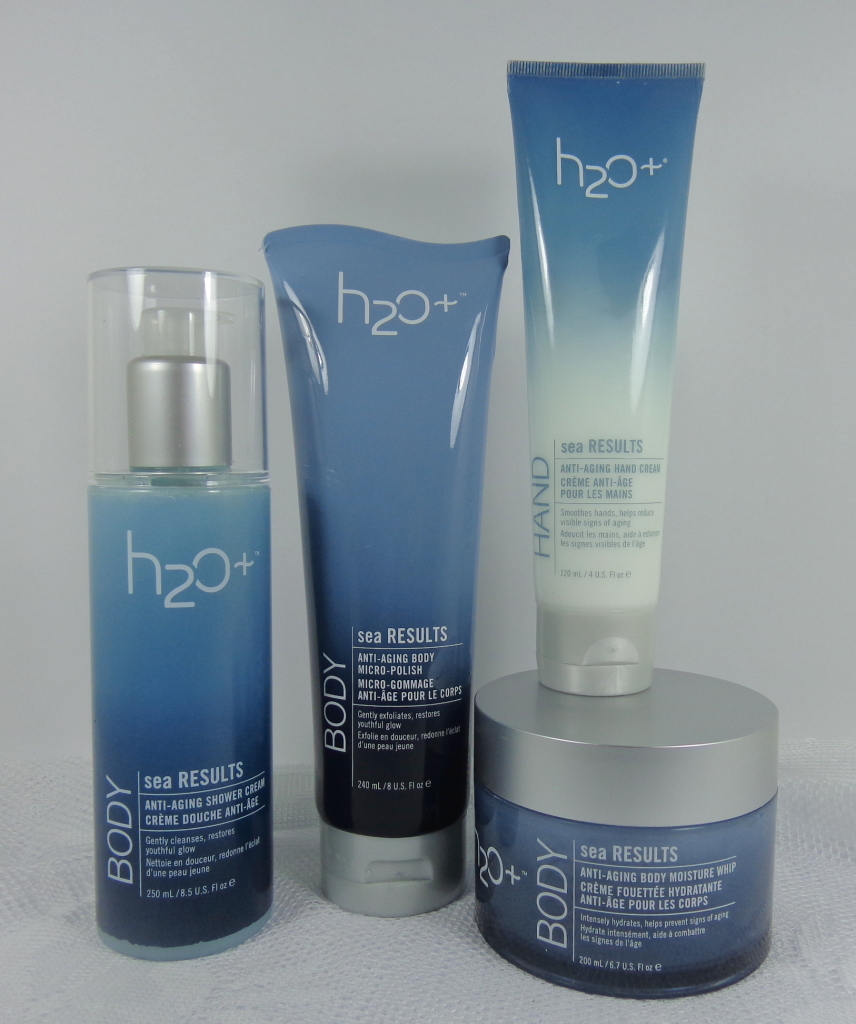 H2O Plus Body Sea Results Anti-Aging Collection