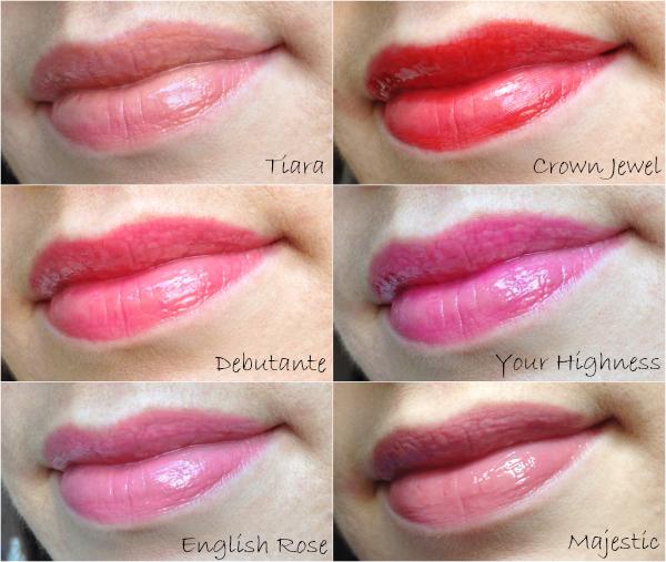 Wearing LORAC Lip Lustre Lipgloss