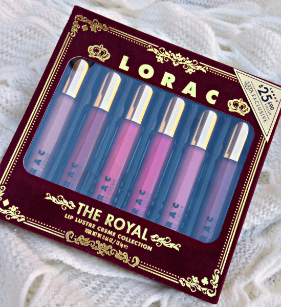 Lorac The Royal Lip Lustre Creme Collection