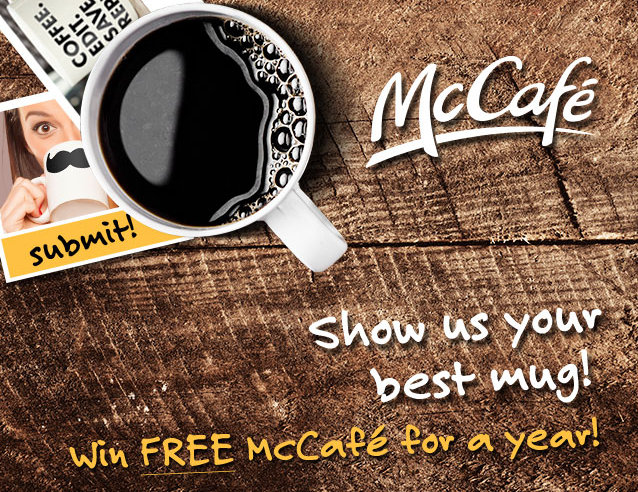 My Favorite Mug PLUS Enter to Win a Year's Supply of McCafe Coffee