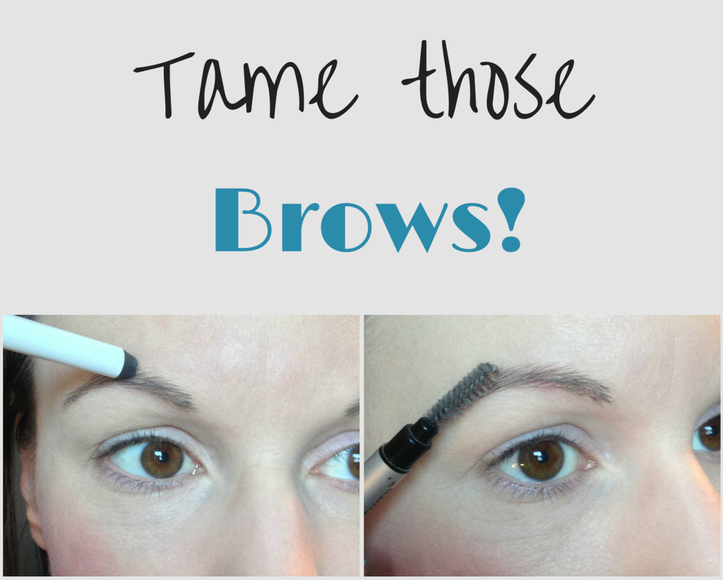keep brows in place