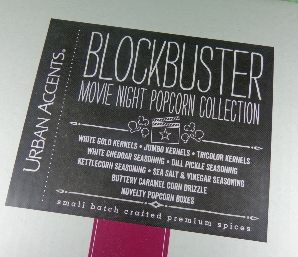 Blockbuster Movie Night Popcorn Collection from Urban Accents