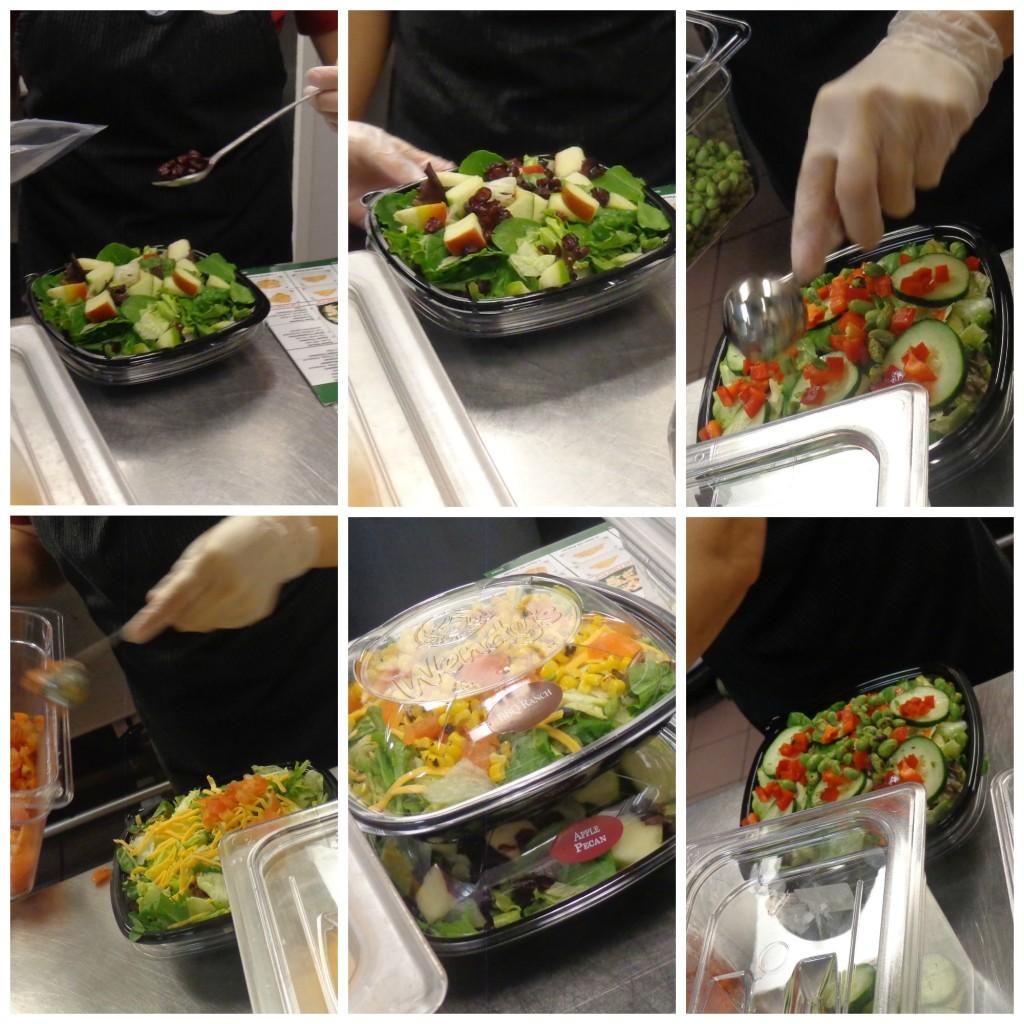 Wendy's Premium Salads