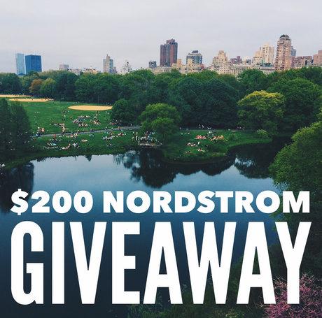 $200 Nordstrom Giveaway – Open Worldwide