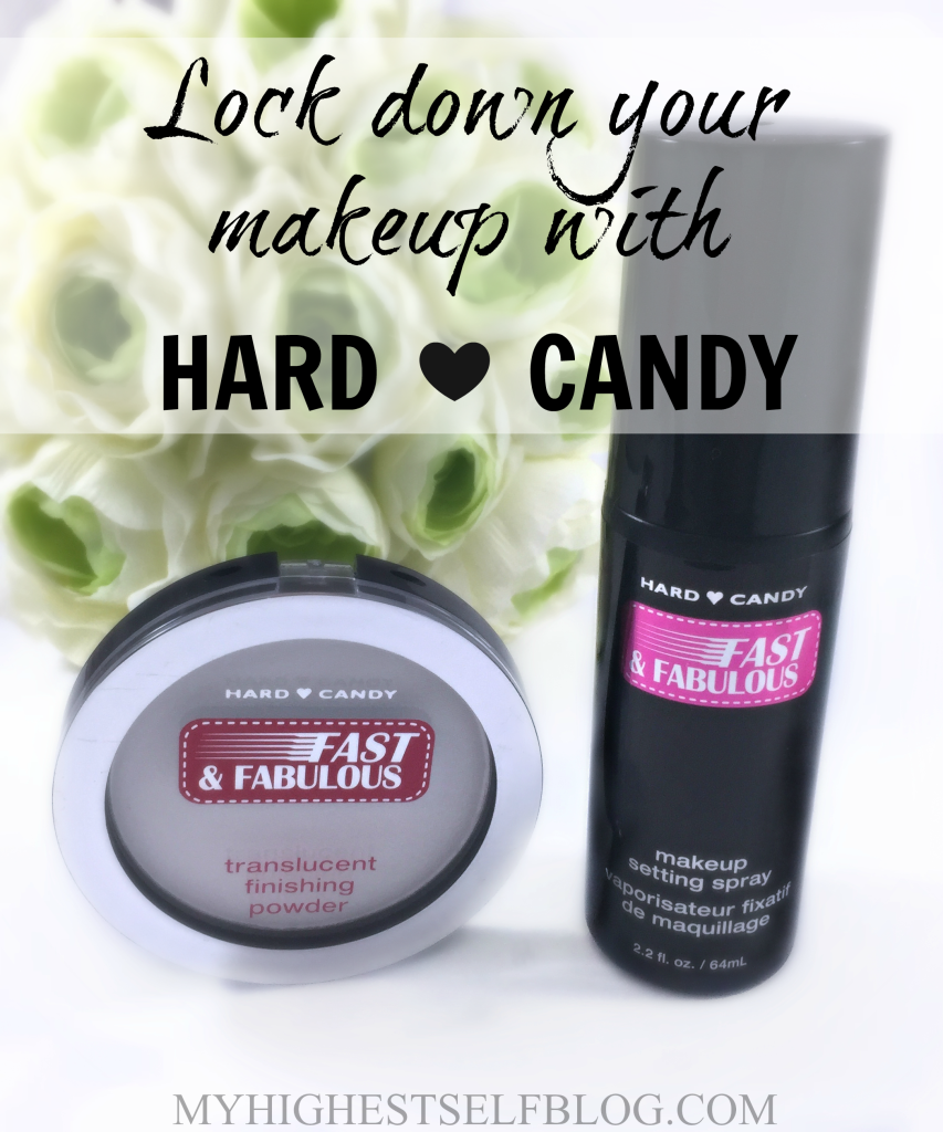 Hard Candy Fast & Fabulous Setting Spray and Finishing Powder