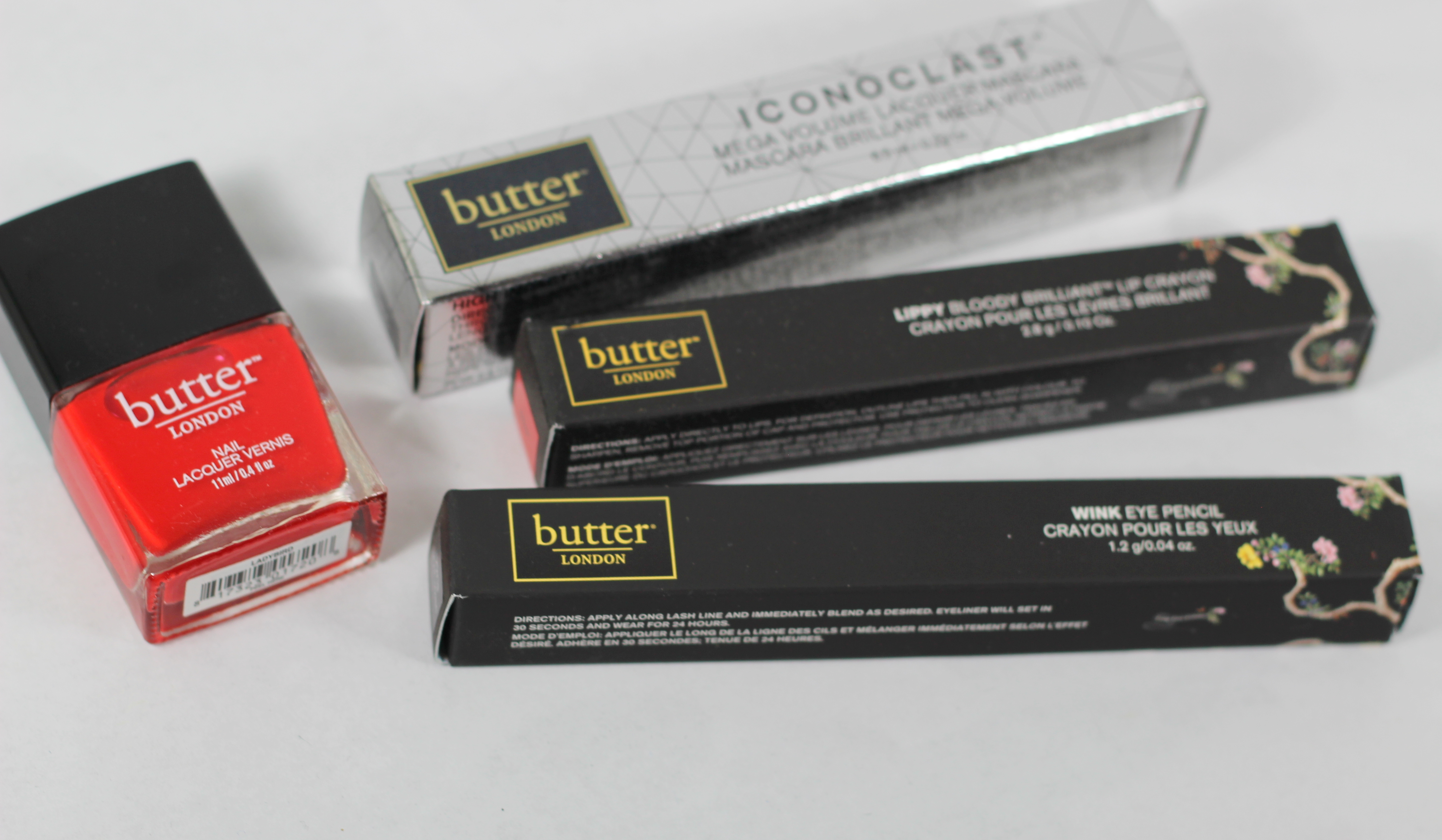 Giveaway: butter LONDON Ladybird, Iconoclast Mascara & More