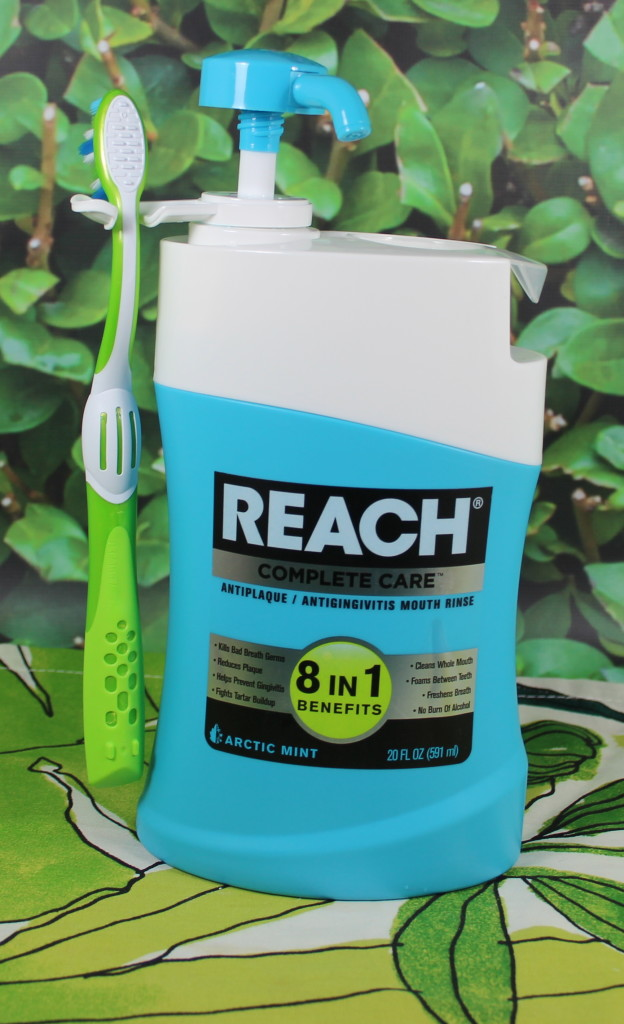 REACH® Complete Care Mouth Rinse and CURVE Toothbrush