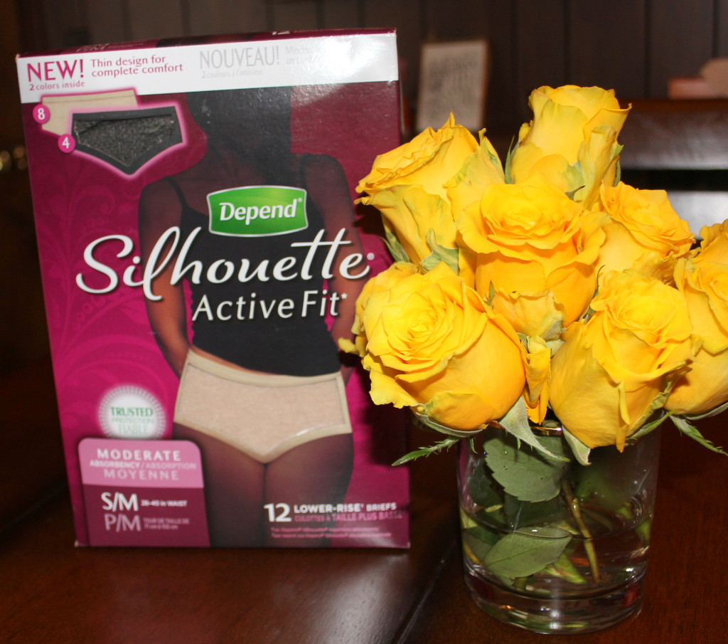 Depend Silhouette Active Fit Brief