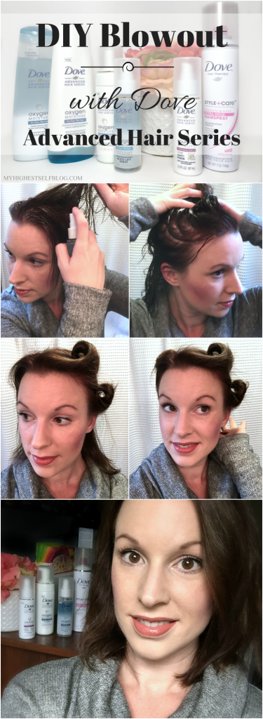 DIY Blowout with Dove