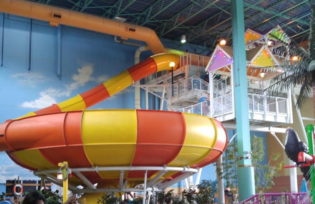Vortex Water Slide