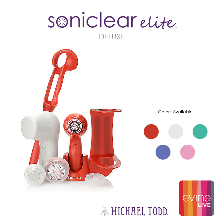 Michael Todd Soniclear Elite Deluxe on EVINE Live!