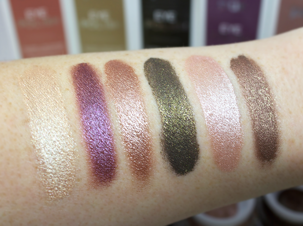 Pur Eye Polish Swatches and Review